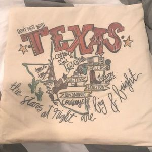 Texas Pillowcase